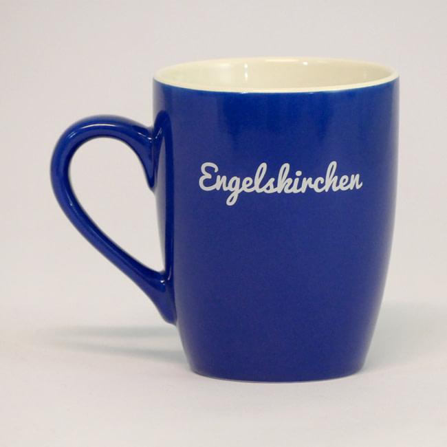 Original Engelskirchener Engel Tasse blau 2