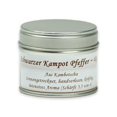 OxclusiviA schwarzer Kampot Pfeffer