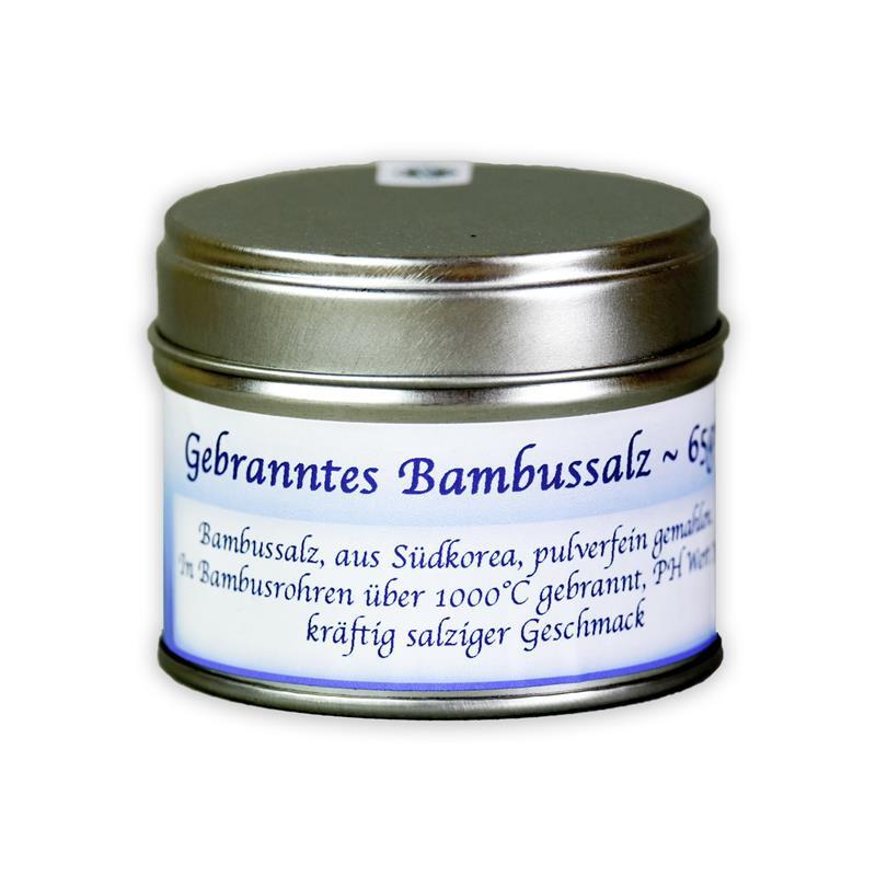 OxclusiviA Bambussalz, gebranntes Salz